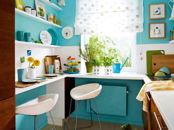 маленька кухня фото